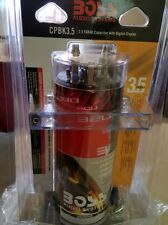 Boss capacitor 3.5 farad color red with digital display new