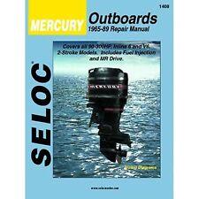 Seloc Service Manual, Mercury Outboard 1965 - 1989 #1408