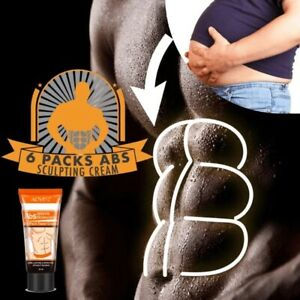 6 Pack Abs Sculpting Cream Powerful Body Hormones Men Muscle Strong Cellulite