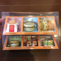 McDonald's Food Strap 6 pieces set Limited Edition Rare Box w/tracking# Used
