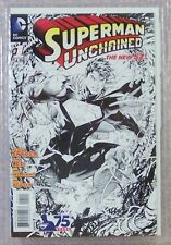 SUPERMAN UNCHAINED (new 52) #'s 1-6, >All SKETCH EDITIONS<, Graded MCG, all NM+