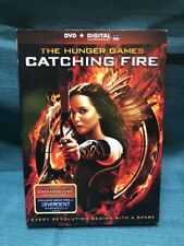 The Hunger Games: Catching Fire (DVD, 2014, Includes Digital Copy W/slipcover