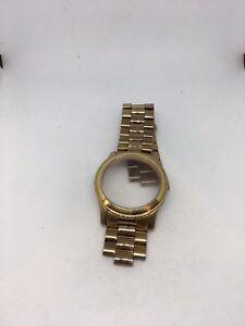 Michael Kors Watch Strap Band 24mm Bracelet w. Case Attached No Connection- H150