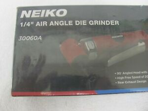 """BRAND NEW IN THE BOX NEIKO 30060A  Air Angle Die Grinder, 1/4"""""""