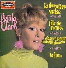 "45 T EP PETULA CLARK ""LA DERNIERE VALSE"""