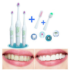 Electric Toothbrush Clean Sound Waves Shaking Oral Care Children Adult Dry·Cell