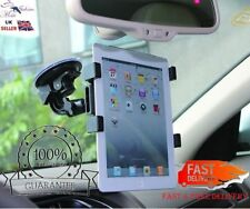 """Adjustable Universal Car Suction Mount Holder For iPad & Galaxy Tablets 7 To 11"""""""