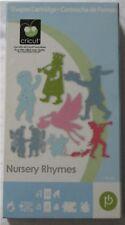 NURSERY RHYMES baby themed shape cricut cartridge - USED but UNLINKED