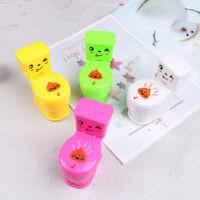 1Pc mini prank squirt spray water toilet closestool joke gag toy surprise gift U