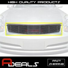 FOR INFINITI G35 4 DOORS SEDAN 2003-2004 BILLET GRILLE GRILL INSERT, REPLACEMENT