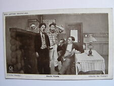 RED LETTER PHOTOCARD - Charlie Chaplin - Charlie Yawns - 1915