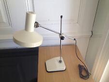 Ancienne lampe articulée  bureau vintage 60/70 design moderniste Desk lamp Déco