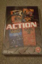 Operation Delta Force 1 & 2/U.S Navy Seals 1 & 2 4 Film DVD New Sealed