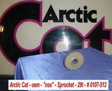 """Arctic Cat NOS Drive Sprocket, 29 tooth # 0107-512 Vintage 1"""" Shaft 15 Spline"""