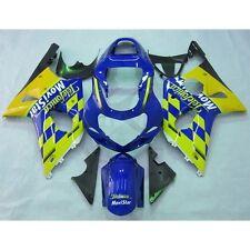 Telefonica Injection Plastic Fairing Kit For Suzuki GSX-R GSXR 600 750 2001-2003