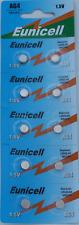 10 X Eunicell AG4 SR626SW G4A LR626 LR66 L626 177 377 A 1.5 V Batería de Reloj de moneda
