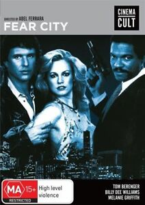 A7 BRAND NEW SEALED Fear City - Cinema Cult (DVD, 2014)
