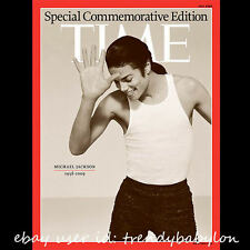 New TIME MAGAZINE Michael Jackson Commemorative Edition