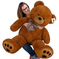 Deuba Ours Peluche Teddy Bear XL 100cm Brun Nounours geant Doux caliner Enfants