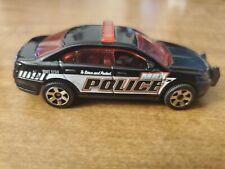 Loose Matchbox Black Ford Police Interceptor