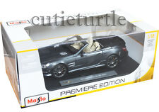 Maisto 2012 Mercedes Benz SL 65 Class AMG Convertible 45th Anniversary 1:18 Grey