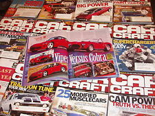 Car Craft magazine lot 14 How to build car BIG POWER custom paint street machine