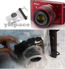 Camera waterproof underwater case *LONG LENS* for Panasonic DMC GF3 GX1