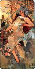 Art Nouveau Print  ' Autumn' by Alphonse Mucha