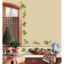 EVERGREEN IVY Wall Stickers 38 Kitchen Decals Leaves Vines Country Room Decor