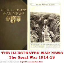 Illustrated War News WW1 Collection Volumes on Data Disc Great War World War 1