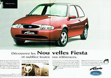 PUBLICITE ADVERTISING 066  1996   Ford   la Fiesta  (2 pages)