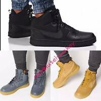 Nike Men's COURT BOROUGH Mid Top Winter Trainers Boots