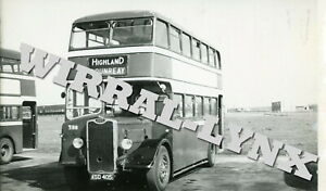 Highland Omnibus Company F8.Guy Arab.Taken At Dounreay
