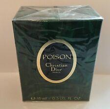 Poison Christian Dior 0.5 oz Esprit de parfum vintage
