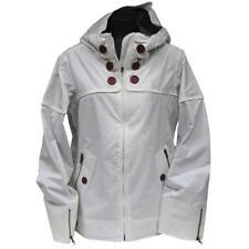 Oakley LIGHTER FARE Womens Snow Jacket M Mediun White Gretchen Bleiler Warm  Ski ed4f77577
