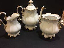New listing Gorgeous Three Pieces Porcelain Tea Set