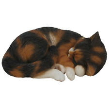 Tortoise Shell Sleeping Cat Ornament Vivid Arts-XRL-ZC32-B
