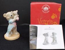"New Orig Box 2000 B&G Copenhagen Porcelain Teddy Bear Col Victoria 4"" Figurine"