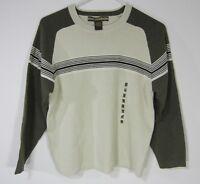 XG long sleeve crew neck Cotton Blend sweater Sz M medium 10/12 Stone Green NWT