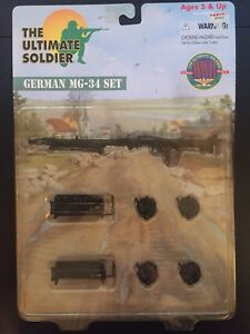 THE ULTIMATE SOLDIER GERMAN MG-34 SET ACCESSORIES