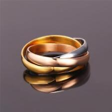 Handmade Yellow Gold Plated Band Fashion Rings
