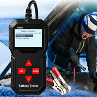 Car Battery Tester Unit 100 to 2000CCA Professional Battery Testing Tool 2.4inch