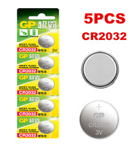 5pcs/Lots GP CR2032 DL2032 2032 3V Button Cell Coin Battery Batteries