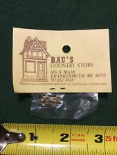 Dollhouse Miniature Bronze Skeleton Door Keys RAU's Country Store