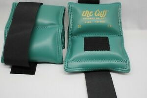 New 2PK The Cuff Original Ankle and Wrist Weight - 4 lb - Turquoise Free Shiping