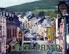 Ireland - DINGLE - Travel Souvenir Flexible Fridge Magnet