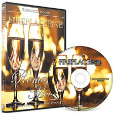 Crackling Fireplace DVD: Romantic Moods Edition #3
