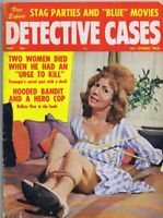 ORIGINAL Vintage May 1963 Detective Cases Magazine GGA