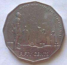 Australia 50 Cents 2005 coin - World War 1939 - 1945 Remembrance