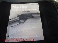 1975 Marlin Sporting Firearms Dealer Retailer Price List Shotguns Rifles Scopes